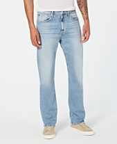 f444c34c99 Calvin Klein Jeans Men s Relaxed Straight-Fit Jeans