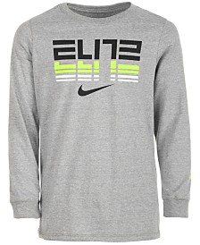 Nike Big Boys Elite-Print Cotton T-Shirt