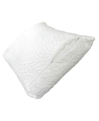 Queen Therm-A-Sleep Snow Waterproof Pillow Protector ft. Nordic Chill Fiber and Tencel