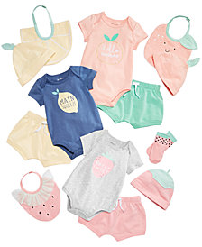 First Impressions Baby Girls Fruits Basket Mix & Match Separates, Created for Macy's
