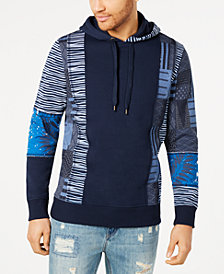 American Rag Men's Roadmap Regular-Fit Panel Hoodie, Created for Macy's