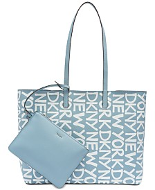 DKNY Brayden Logo Reversible Tote, Created for Macy's