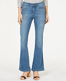I.N.C. Curvy Flare-Leg Jeans, Created for Macy's