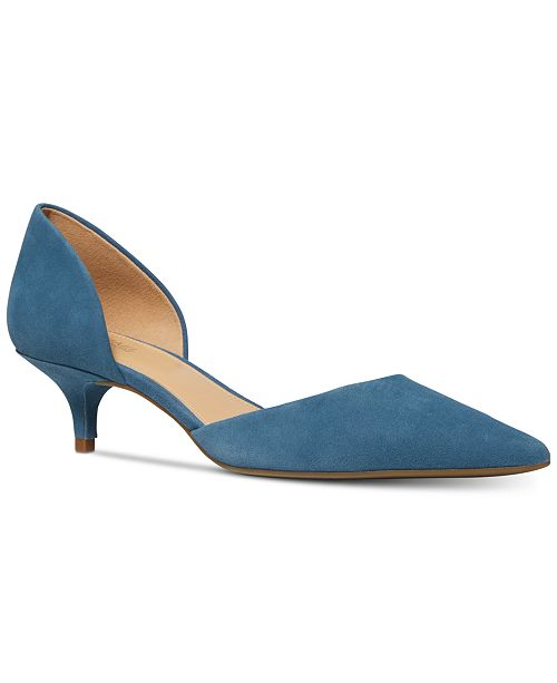 4a0c7b8a9422 Michael Kors Alba Kitten Heels   Reviews - Pumps - Shoes - Macy s