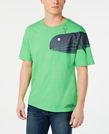 A|X Armani Exchange Men's Sea Creature Graphic T-Shirt
