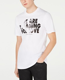 A|X Armani Exchange Men's We Are Dreaming For Love T-Shirt