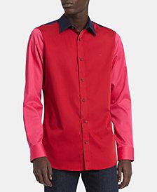 Calvin Klein Men's Slim-Fit Colorblocked Shirt