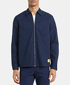 Calvin Klein Men's Twill Zip-Front Jacket