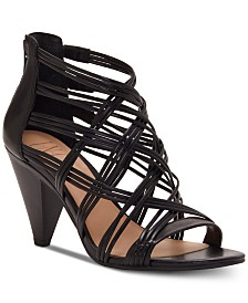 718490a7b0a5 I.N.C. Women s Gustava Strappy Cone-Heel Sandals
