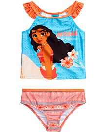 Dreamwave Toddler Girls 2-Pc. Moana Graphic Tankini Set