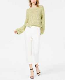 ASTR the Label Drop-Shoulder Knit Sweater
