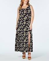 00ae1df21d0 MICHAEL Michael Kors Plus Size Floral-Print Maxi Dress
