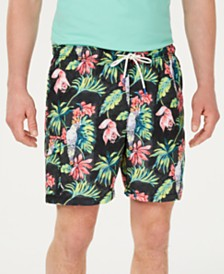 "Tommy Bahama Men's Naples Tahitian Tweets 6"" Swim Trunks"