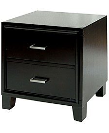 Muscett Transitional Nightstand