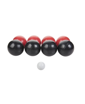Triumph Recreational Outdoor Bocce Ball Set Includes 8 Bocce Balls, Jack, and Sports Carry Bag