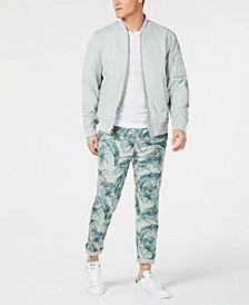 Solid Ace Bomber Jacket & Palm Bombay Chino Pants, Created for Macy's