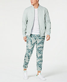 American Rag Solid Ace Bomber Jacket & Palm Bombay Chino Pants, Created for Macy's