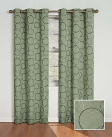 """Eclipse Meridian Thermaback Blackout 42"""" x 63"""" Curtain Panel"""