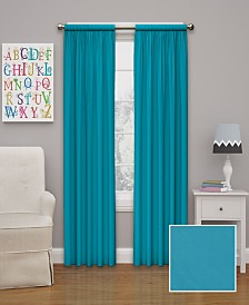 "Eclipse Microfiber Thermaback Kids Blackout 42"" x 84"" Curtain Panel"