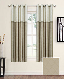 "Eclipse Arno Thermalayer Blackout 52"" x 63"" Curtain Panel"