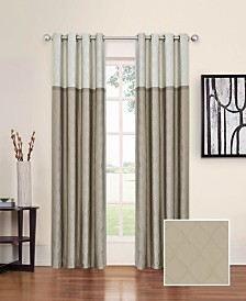"Eclipse Arno Thermalayer Blackout 52"" x 95"" Curtain Panel"