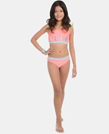 Tommy Hilfiger Big Girls 2-Pc. Philamina Swimsuit