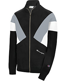 Champion Men's Reverse Weave Colorblocked Track Jacket