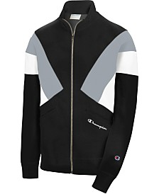 Champion Men's C-Life Reverse Weave Colorblocked Track Jacket