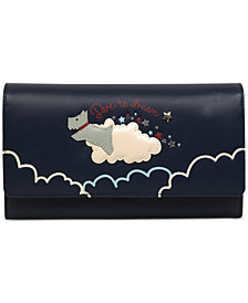 Radley London Dare to Dream Leather Matinee Flapover Wallet