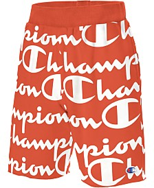 "Champion Men's C-Life Logo-Print 11"" Shorts"