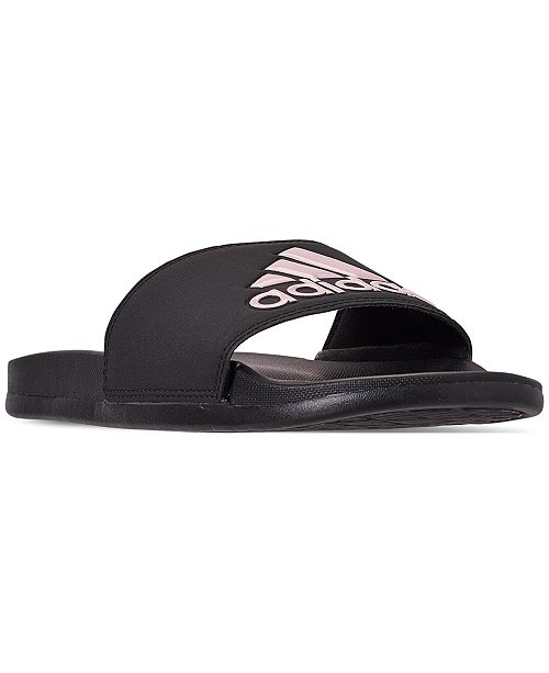 5f8a9adf27eb adidas Women's Adilette Slide Sandals from Finish Line & Reviews ...