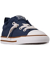ec1baa7cf75 Converse Little Boys  Chuck Taylor All Star Street Slip Casual Sneakers  from Finish Line