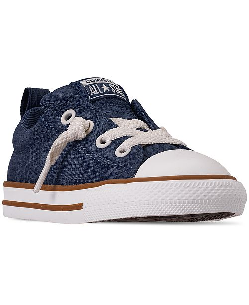 64bef5050ef6d Converse Little Boys' Chuck Taylor All Star Street Slip Casual ...
