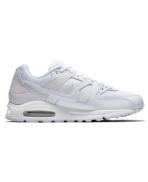 reputable site 24d41 12b18 ... Nike Men s Air Max Command Leather Casual Sneakers from Finish ...