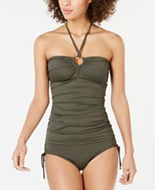 MICHAEL Michael Kors Tankini Top & Side-Tie Bikini Bottoms, Created for Macy's