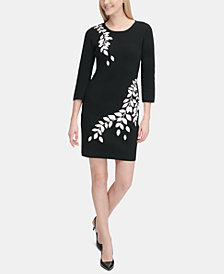 Calvin Klein Graphic Sweater Dress