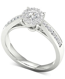 Diamond (3/4 ct. t.w.) Engagement Ring in 14k White Gold
