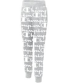 Champion Men's Giant Logo-Print Joggers
