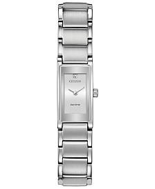 Citizen Eco-Drive Women's Axiom Stainless Steel Bracelet Watch 15mm