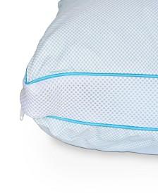 CLOSEOUT! Hanes® Cool Comfort Hybrid Foam & Liqui-Gel Jumbo Pillow