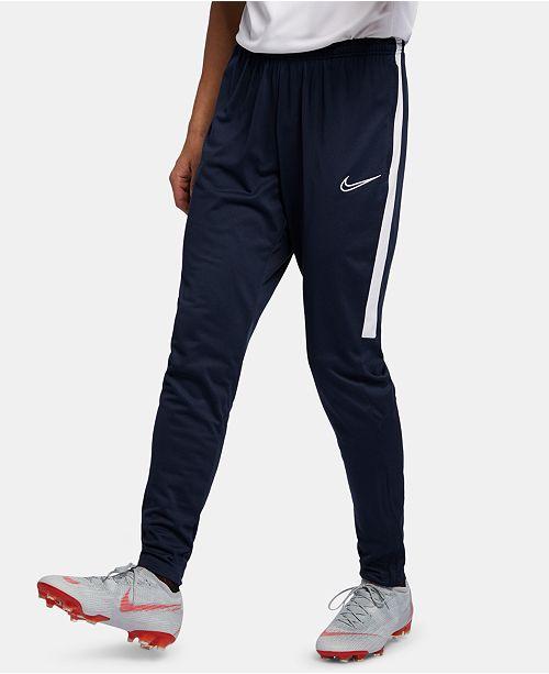 cigarro Preguntar Mendicidad  Nike Men's Academy Dri-FIT Tapered Soccer Pants & Reviews - All Activewear  - Men - Macy's