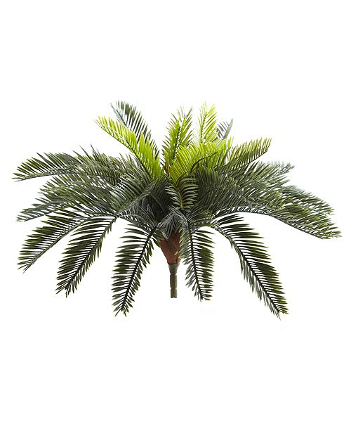 "Nearly Natural 13"" Cycas Artificial Plant, Set of 2"