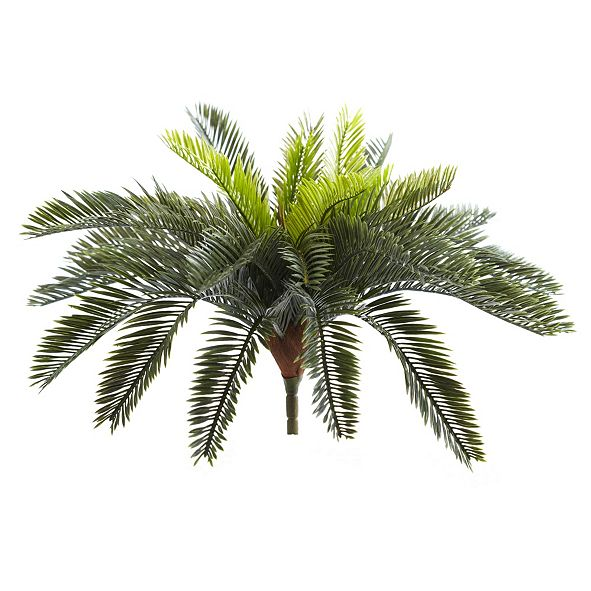 """Nearly Natural 13"""" Cycas Artificial Plant, Set of 2"""