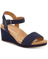 34ff3a076 Blue Women s Sandals and Flip Flops - Macy s