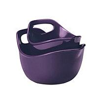 Rachael Ray Ceramics 2-Piece Mixing Bowls Set