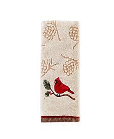 Cardinal And Branch 2-Pc. Hand Towel Set