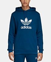 ea7faaf8b1c adidas Originals Men's Treifoil French Terry Hoodie