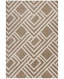 "Lucia Modeme 6'7"" x 9'6"" Indoor/Outdoor Area Rug"