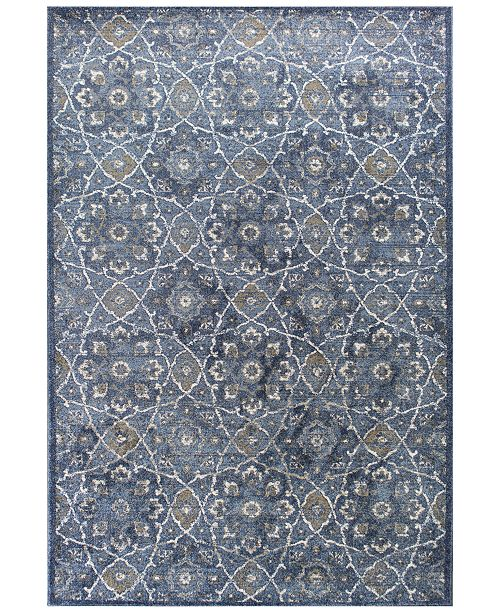 "Kas CLOSEOUT! Seville Marrakesh 2'2"" x 7'6"" Runner Area Rug"
