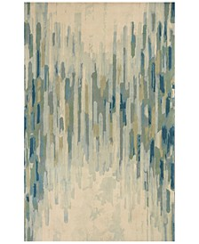Whisper Shades Of Green 3005 Green 8' Round Area Rug